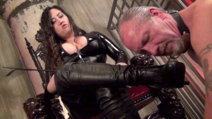 Clips4Sale.com - Mistress Empress Jeun - Entertain Me Boot Slave (Femdom) [HD, 720p]