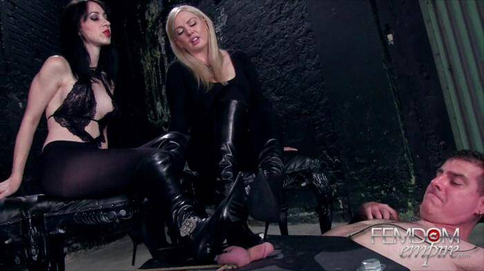 Female Domination - Lexi Sindel & Mina Thorne Mega Bitches (Femdom) [HD, 720p]