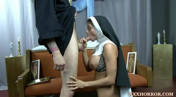 XXXHorror.com - Ariella Ferrera The Good Nun 1 (BDSM) [FullHD, 1080p]