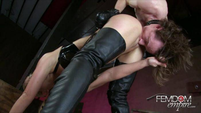 Female Domination - Hung Up To Serve (Anilingus) [HD, 720p]