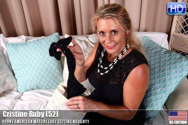 Mature.nl/USA-Mature.com - Cristine Ruby (52) - Solo - 20337 [SD, 540p]