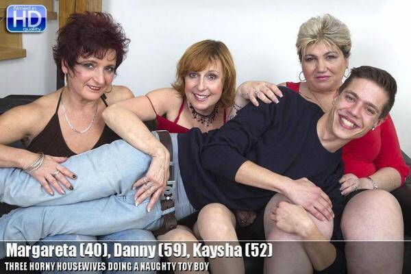 Margareta (40), Danny (59), Kaysha (52) - Group Sex (Mature.nl) [SD, 540p]