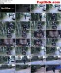 G2P [Hot young brunette piss on the street public - Camouflage] FullHD, 1080p)