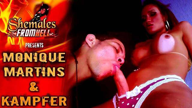 Shemale Hell - Monique Martins, Kamper - Hard Sex [HD, 720p]