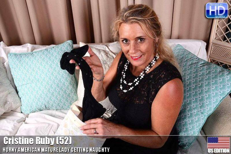 Mature.nl/USA-Mature.com: Cristine Ruby (52) - Solo - 20337 [SD] (553 MB)