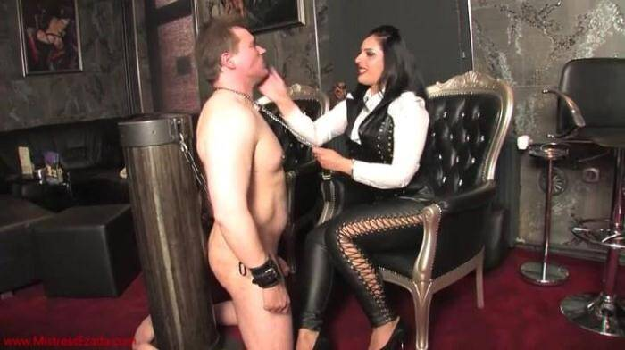Clips4Sale.com - Mistress Ezada - Bare Hands Faceslapping (Femdom) [SD, 404p]