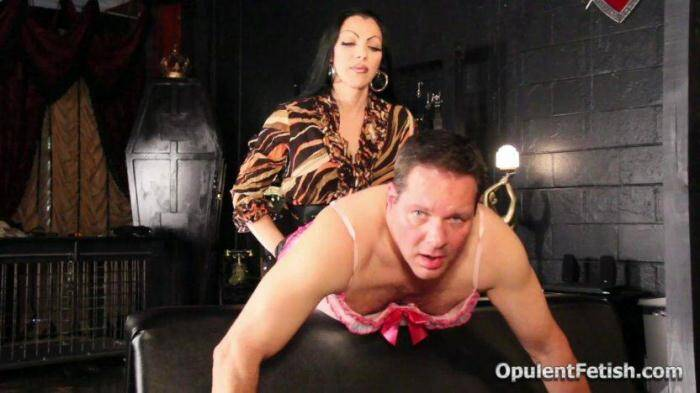 OpulentFetish.com - Mistress & Slave - Goddess Cheyenne Turned Me Gay (Strapon) [HD, 720p]