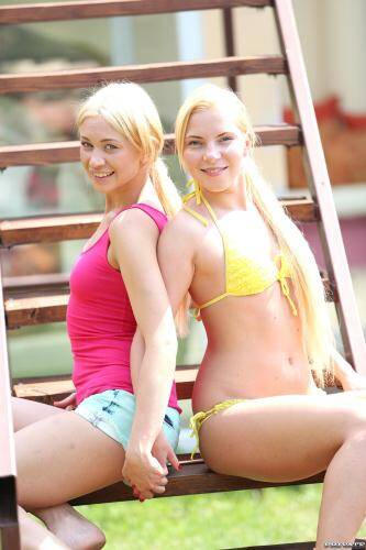 Private.com [Teen Blondes Angie Koks & Linsay Olsen Love Eating Pussy] HD, 720p)