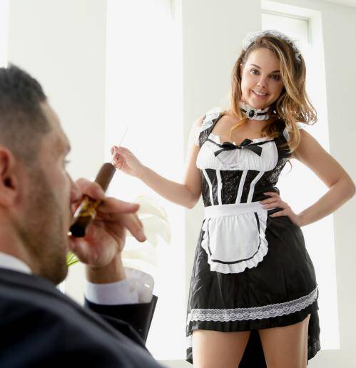 Erotica - Dillion Harper [Role Playing- The Maid] (HD 720p)