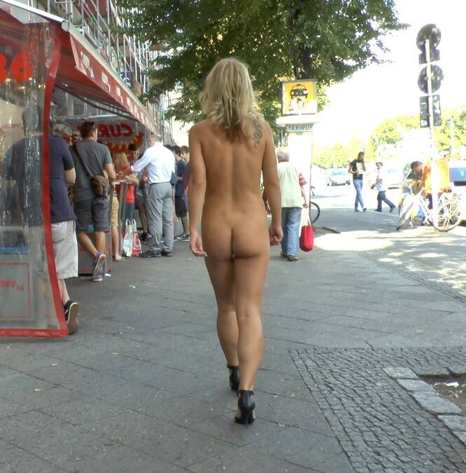 PublicDisgrace.com/Kink.com - Mona Wales, Conny Dachs, Luci Angel - Horny Blonde Anal Slut Disgraced for Berlin Tourists  [SD 540p]