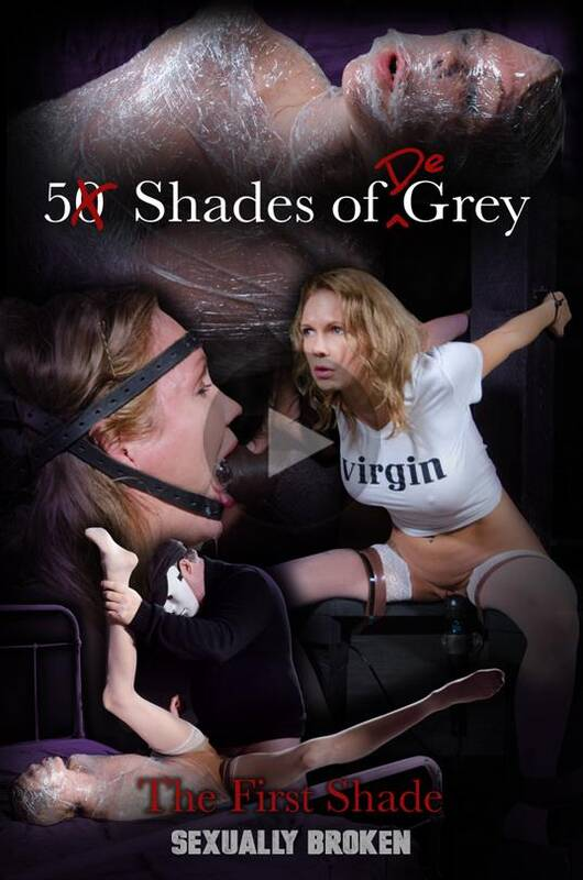 SexuallyBroken.com - Rain Degrey - 5 Shades of DeGrey: The First Shade (BDSM) [HD, 720p]