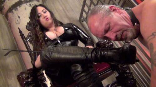 Clips4Sale.com [Mistress Empress Jeun - Entertain Me Boot Slave] HD, 720p)