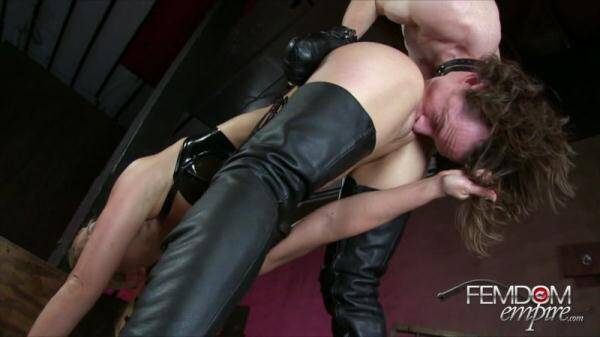 Hung Up To Serve (Female Domination) [HD, 720p]