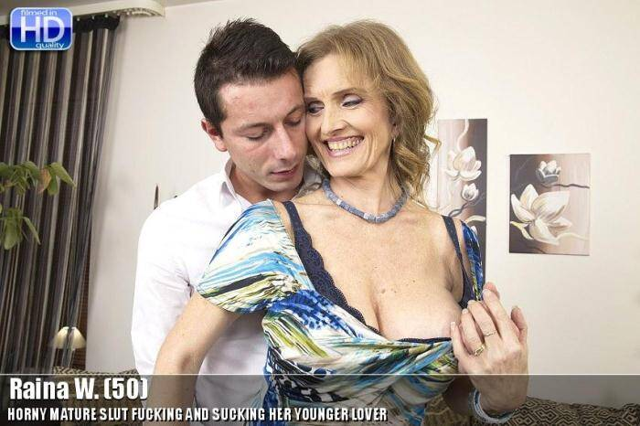 Raina W. (50) - Hard sex with hot old slut! [SD, 540p] - Mature.nl