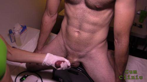 CumClinic - Session Part 01 [FullHD, 1080p] [CumClinic.com/Clips4sale.com] - Prostate Massage