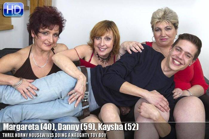 Margareta (40), Danny (59), Kaysha (52) - Group Sex [SD, 540p] - Mature.nl