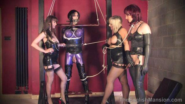 Femdom - Miss Kinky and Lady Nina - Frame Bound - Part 2 - Group Domination [HD, 720p]