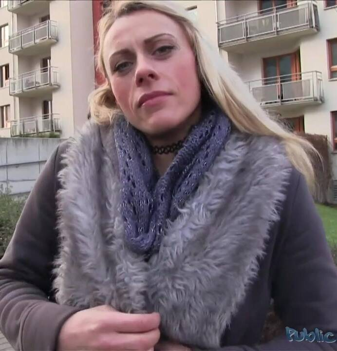 Public Casting - Brittany - E356 Cold big cock but a warm wet pussy  [HD 720p]