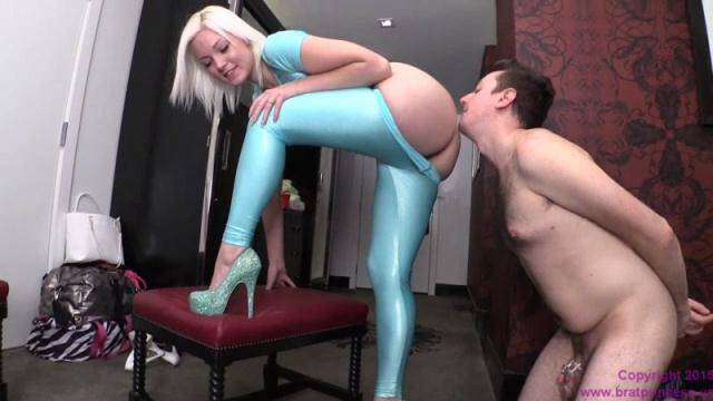 BratPrincess.us/Clips4sale.com - Jenna Ivory - Bitch Boy Licks Ass [HD, 720p]