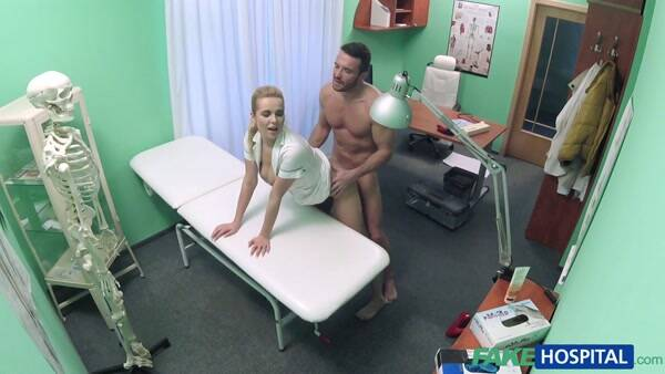 Fuck Hospital - Nikky - Handy man gets to fuck nurse (Hidden Camera) [SD, 480p]