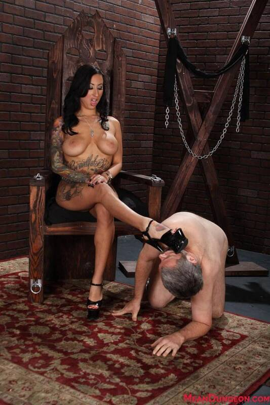 MeanBitches.com/MeanWorld.com - Lily Lane and Jimmy - Domination her Slave! [FullHD, 1080p]