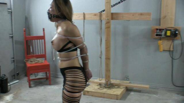 Asianastarr.com - Zip Tied Live Part 1 - Breaking in the New Muzzle Gag [FullHD, 1080p]