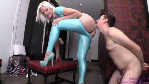 Jenna Ivory - Bitch Boy Licks Ass [HD, 720p] [BratPrincess.us/Clips4sale.com] - Anilingus