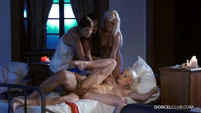 DorcelClub.com - 4 college girls get fucked in the dormitory by the supervisor - Lea Guerlin, Gina Gerson and other... [SD, 540p]