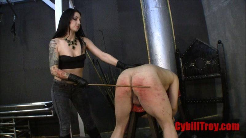 CybillTroy.com: Heartless Caning - Pain [SD] (488 MB)