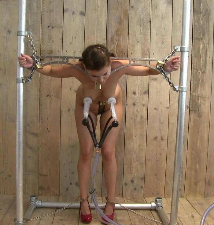 HuCows: Nelly - High speed milkin - Tied young girl! (FullHD/1080p/635 MB) 21.01.2016