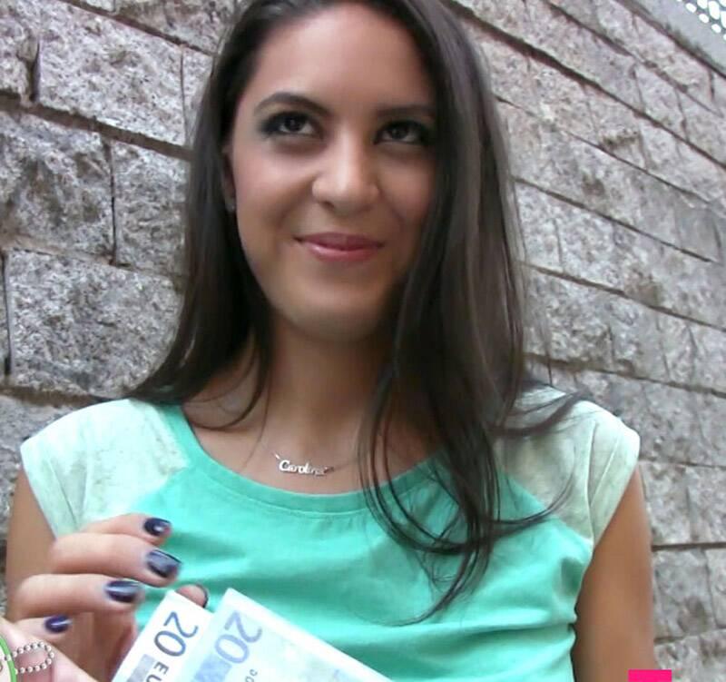 TeensLoveMoney/TeamSkeet - Carolina Abril - Spanish Waitress Fucks For Cash [2016 HD]