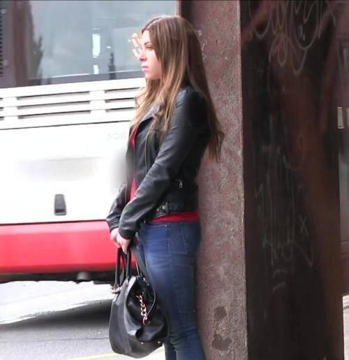 Public Casting - Ally Breelsen [E364 Hot Russian loves fucking in public] (FullHD 720p)