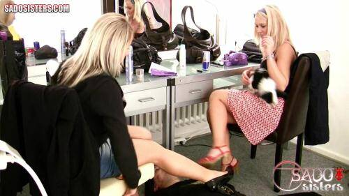 SadoSisters.com - Layla, Jane [Humiliating our house slave while we prepare for party�] (HD 720p)