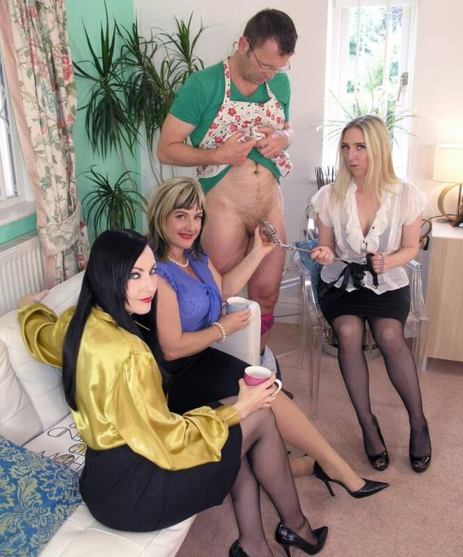 English Mansion - Lady Nina Birch, Miss Eve Harper, Miss Jessica - A Well Trained Husband  [HD 720p]