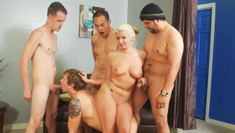 WhiteGhetto.com: Layla Price, Eric Jover - Bi Cuckold Gang Bang #06, Scene #01 [FullHD] (1.57 GB)