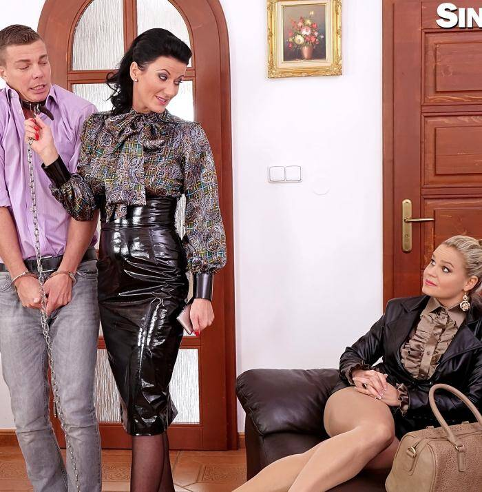 SDrive - Celine Noiret,  Barra Brass,  Luci Angel  - Slave Of The Day: Freaks Get Their Pee On... Each Other... Soaking The World With Piss... Right Here, Right Now!  [HD 720p]