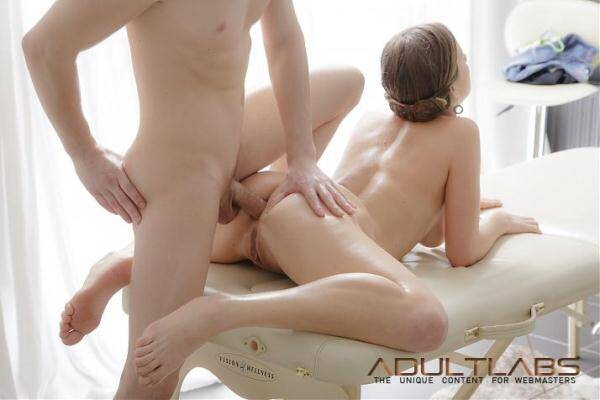 image Classy masseuse doggystyle fucked after bj