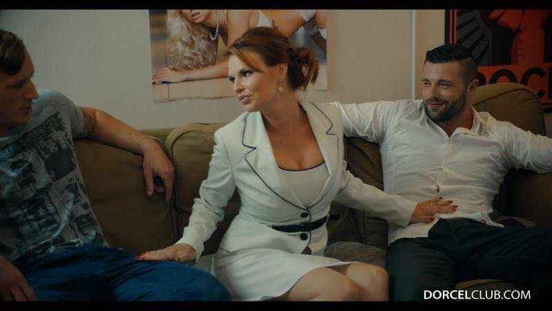 DorcelClub - Tarra White - Hard DP with 2 strangers for my wife Tarra White [2016 FullHD]