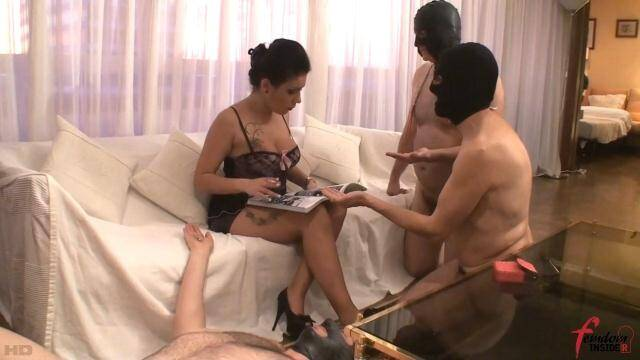 FemdomInsider - Lady Amazon - Three Ashtrays for Lady Amazon [FullHD, 1080p]