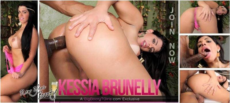 Kessia Brunelly - New Year Booty [HD] - Trans5OO