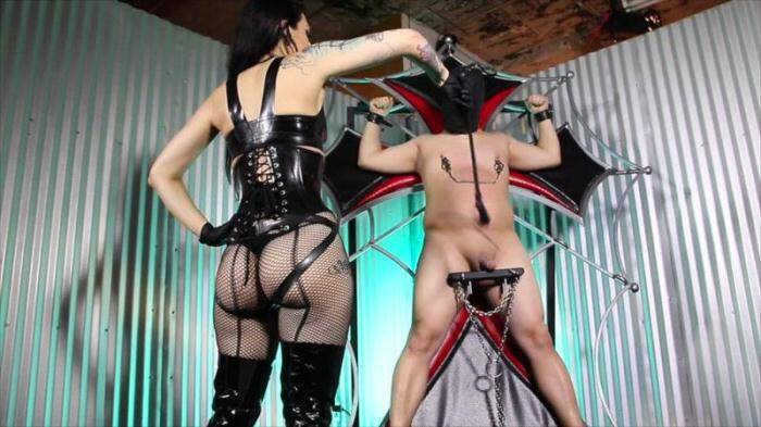 CybillTroy.com - Cock Whipping Agony - Punishment (Spanking) [SD, 540p]
