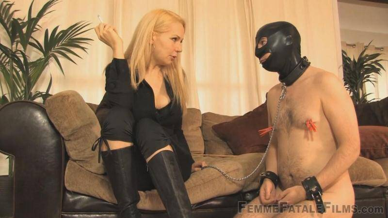 Becoming Her Slave! Smoking with Domination! [HD] - FFF
