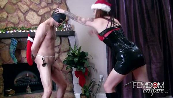 Jingle Balls! - Xmas Ballbusting [SD, 432p] - Female Domination