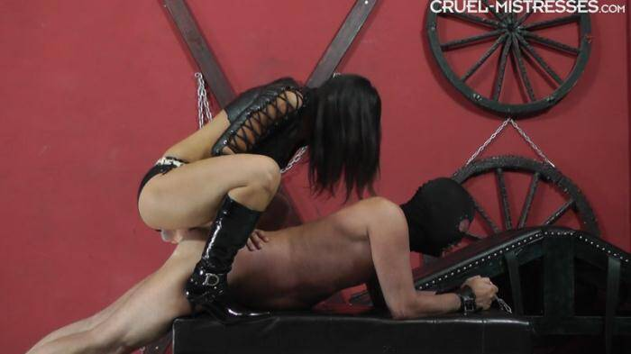 Clips4Sale.com/Cruel-Mistresses.com - Inside His Ass (Strapon) [FullHD, 1080p]