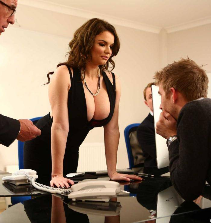 Big Tits�Work - Tasha Holz - Working Hard  [SD 480p]