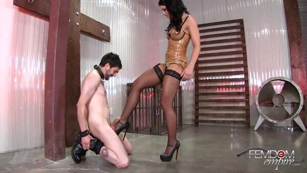 Female Domination: Your Nuts are BUSTED - Ballbusting [SD] (123 MB)