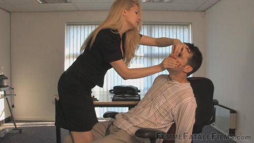 FFF [Bitchy Boss and her Slave!] HD, 720p)