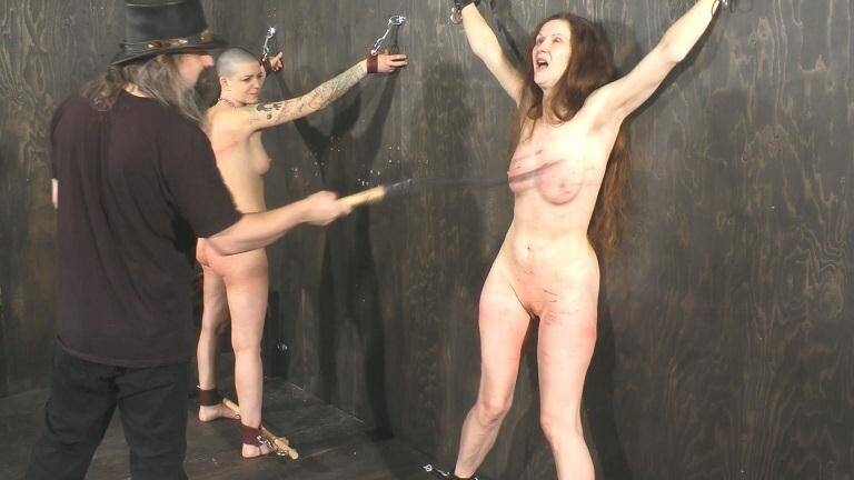 Emma And Abigail - Extreme Whipping For Extreme Painsluts [FullHD] - Paintoy
