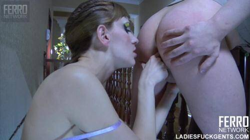 Rosa & Randolph - Hot russian mistress and her slave! [HD, 720p] [FERRONETWORK.com] - Strapon