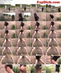 Vickie Powell - Skinny Brunette Piss (SneakyPee) HD 720p